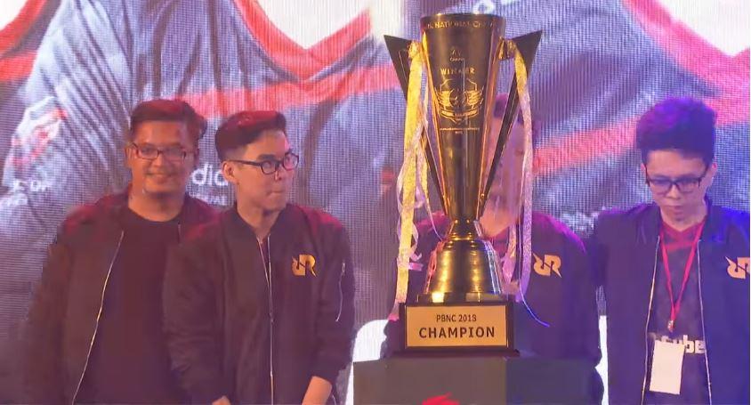 Juarai PBNC 2018. RRQ Bawa Indonesia ke Korea