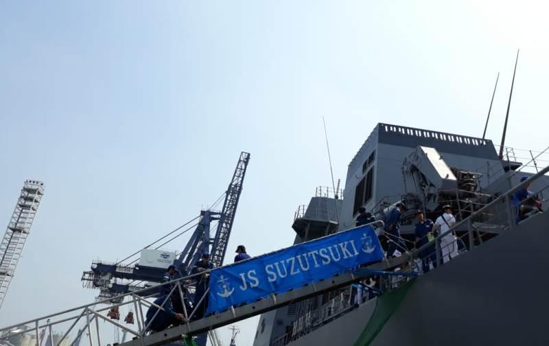 Jepang Beri Kesempatan Warga Jakarta Kunjungi Kapal Perang