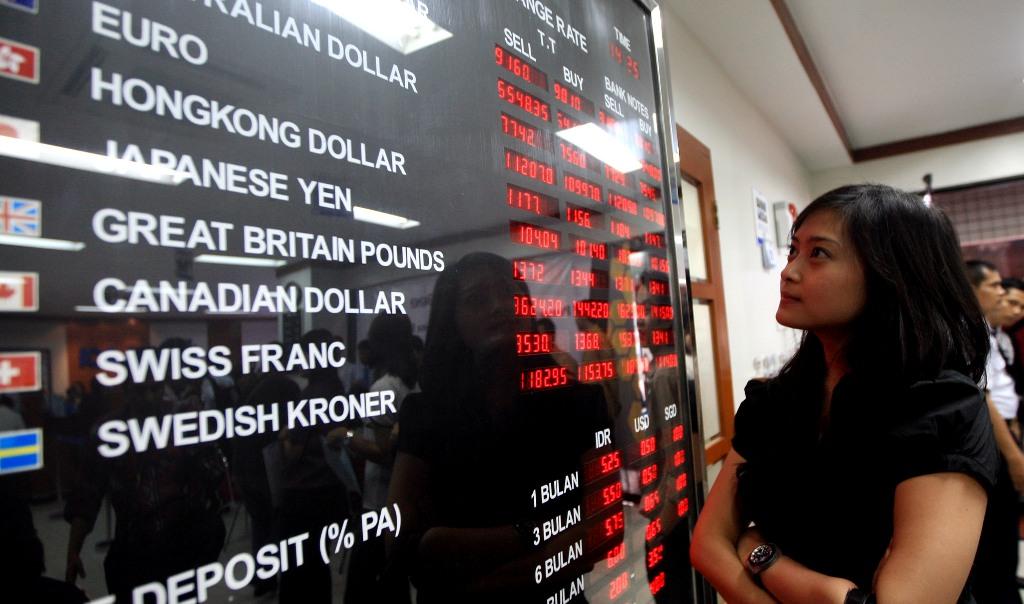 Rupiah Kokoh di Rp14.855/USD