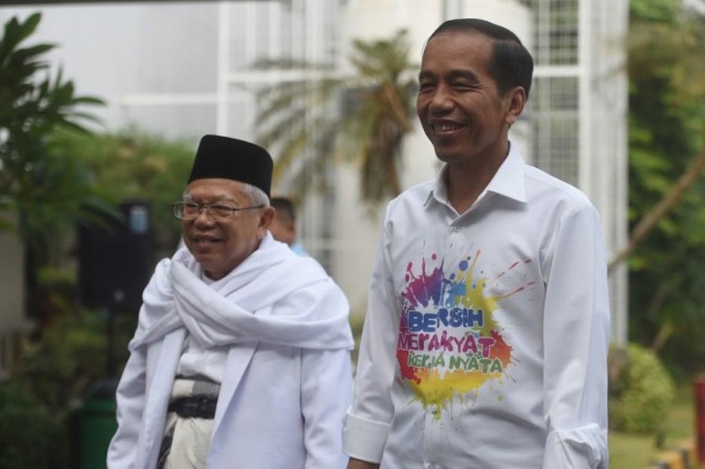 Jokowi-Ma'ruf Janjikan Kejutan saat Penetapan Nomor Urut