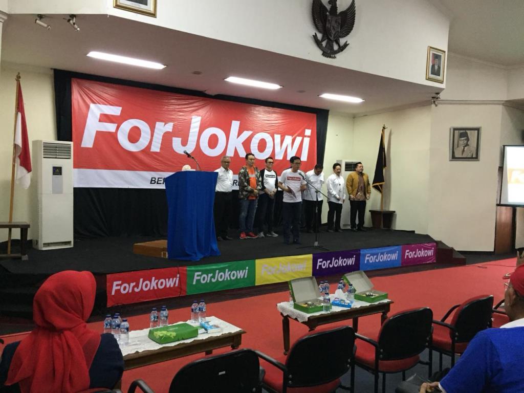 ForJokowi Deklarasi Dukung Jokowi-Ma'ruf