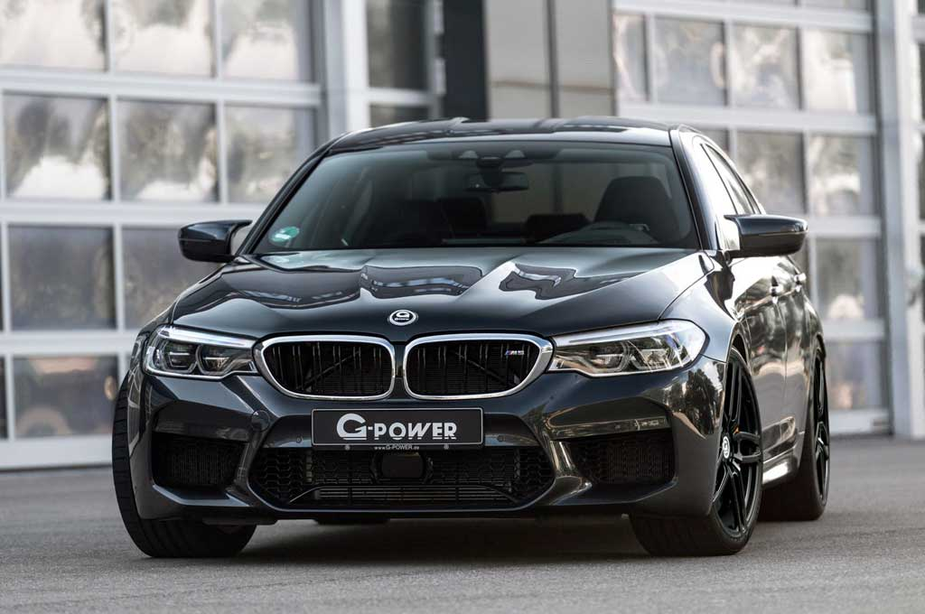 Buasnya Performa BMW M5 Racikan G-Power