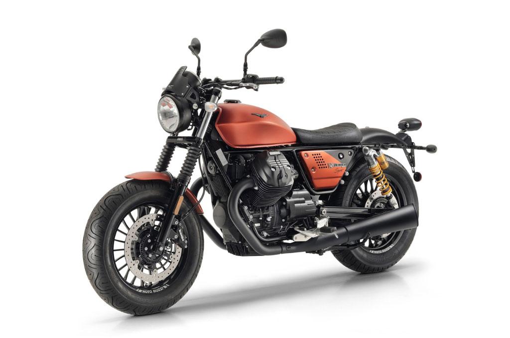 Moto Guzzi V9 Bobber Sport nan Gagah