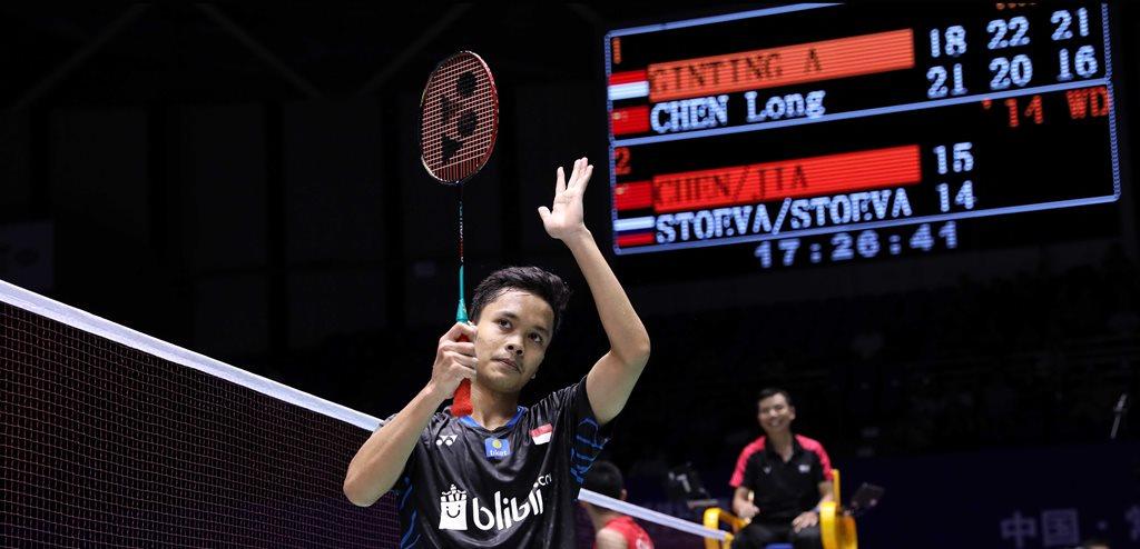 Kunci Sukses Anthony Ginting Mempermalukan Chen Long