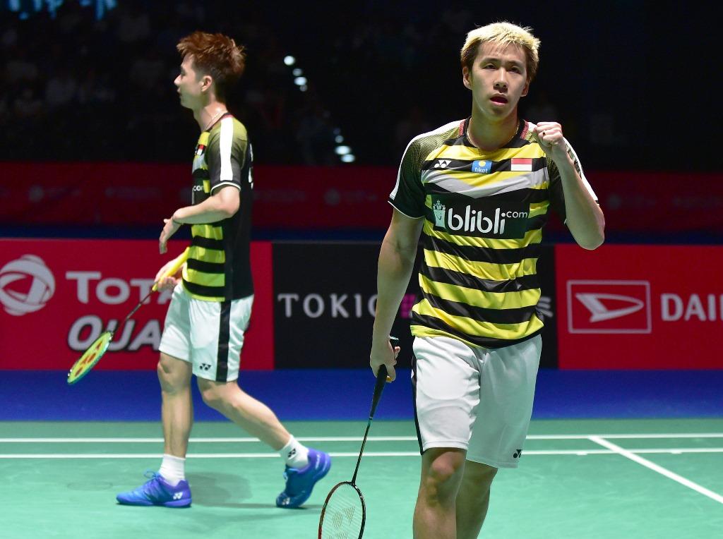 Kevin/Marcus Tembus Semifinal China Open 2018