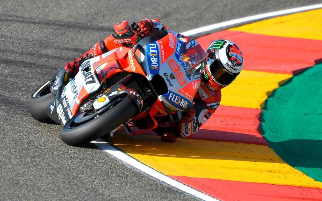 Lorenzo Raih <i>Pole Position</i> di MotoGP Aragon