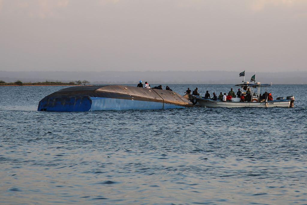 Korban Tewas Kapal Tenggelam Tanzania Jadi 167 Orang