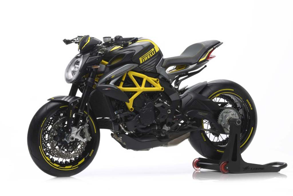 MV Agusta Rilis Dragster 800 RR Edisi Pirelli