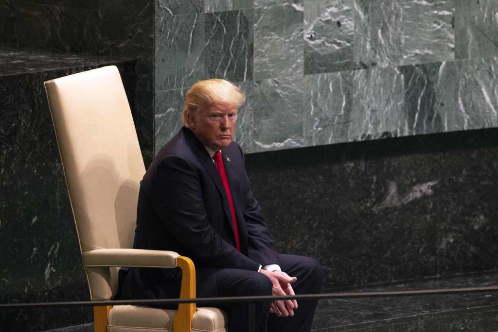 Trump Puji Kim Jong-un di Sidang Umum PBB
