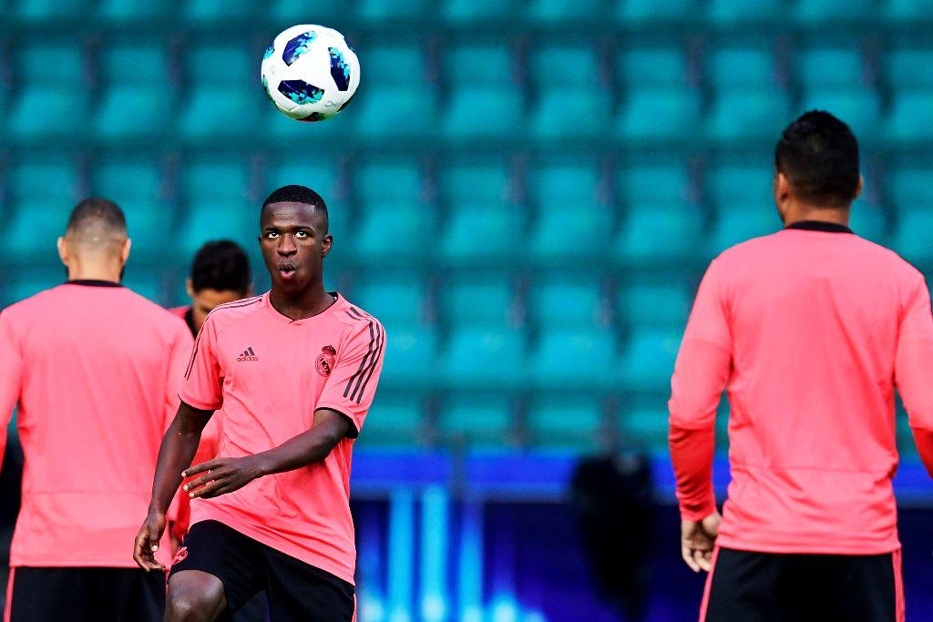 Vinicius Berpeluang Jalani Debut di Real Madrid Malam Ini