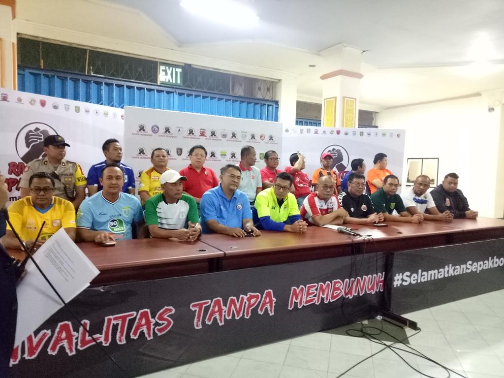 PSSI Dituntut Implementasikan Aturan Suporter Tim Tamu