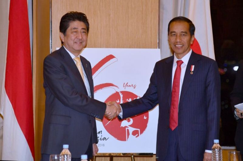 Hubungi Jokowi, PM Jepang Sampaikan Duka Cita