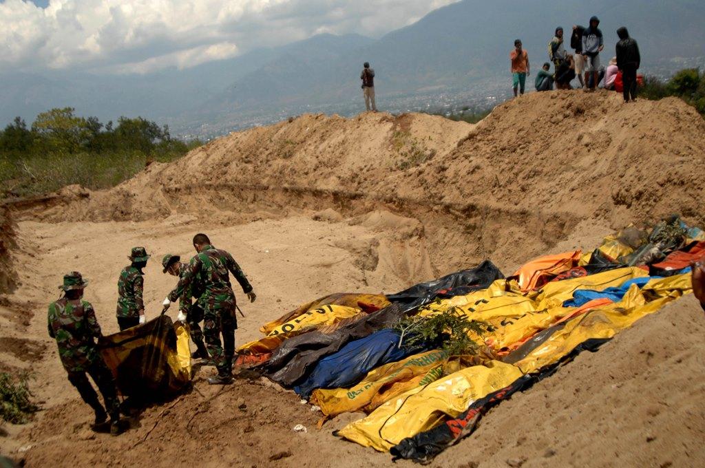 Korban Bencana Sulteng Tembus 1.234 Jiwa