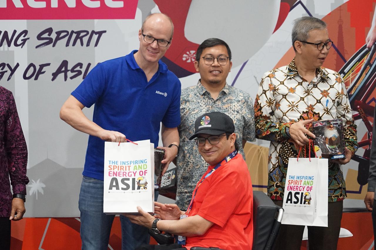 Atlet, Relawan, Hingga Wartawan Dilindungi Asuransi saat Asian Para Games