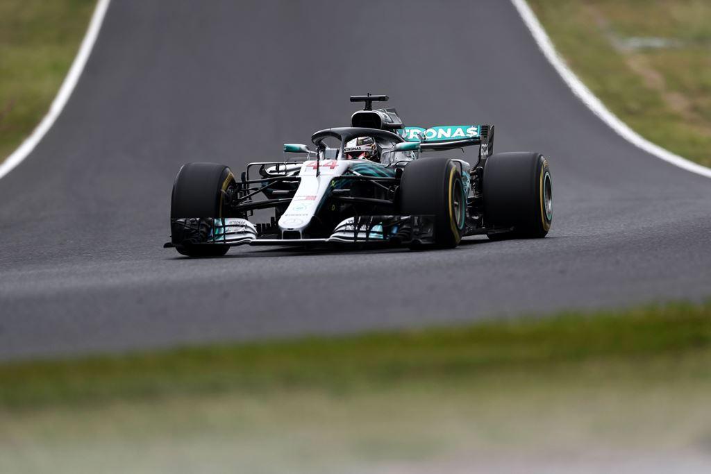 Lewis Hamilton Dominasi Hari Pertama F1GP Jepang