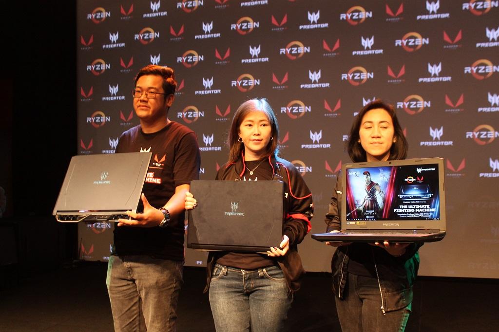 Acer Tanam Prosesor Ryzen Desktop di Helios 500