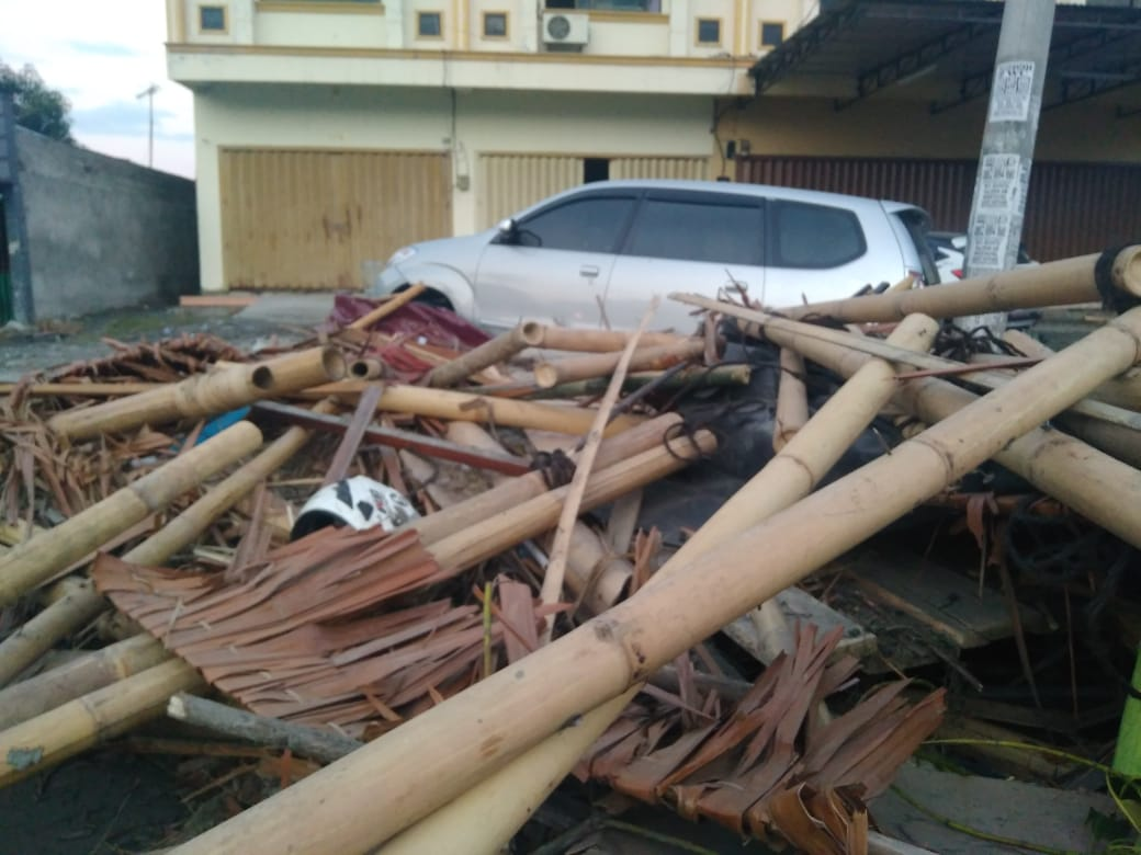 Hoaks Buat Trauma Psikis Korban Gempa Bertahan