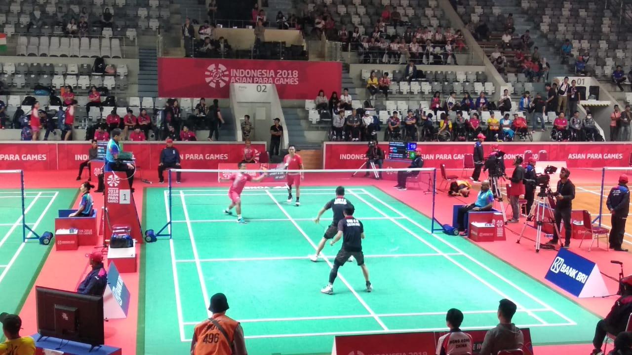 Para Bulu Tangkis Beregu Putra Indonesia Masuk Semifinal