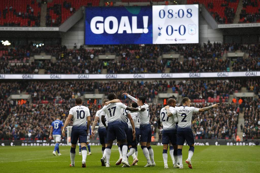 Tottenham Susah Payah Kalahkan Cardiff