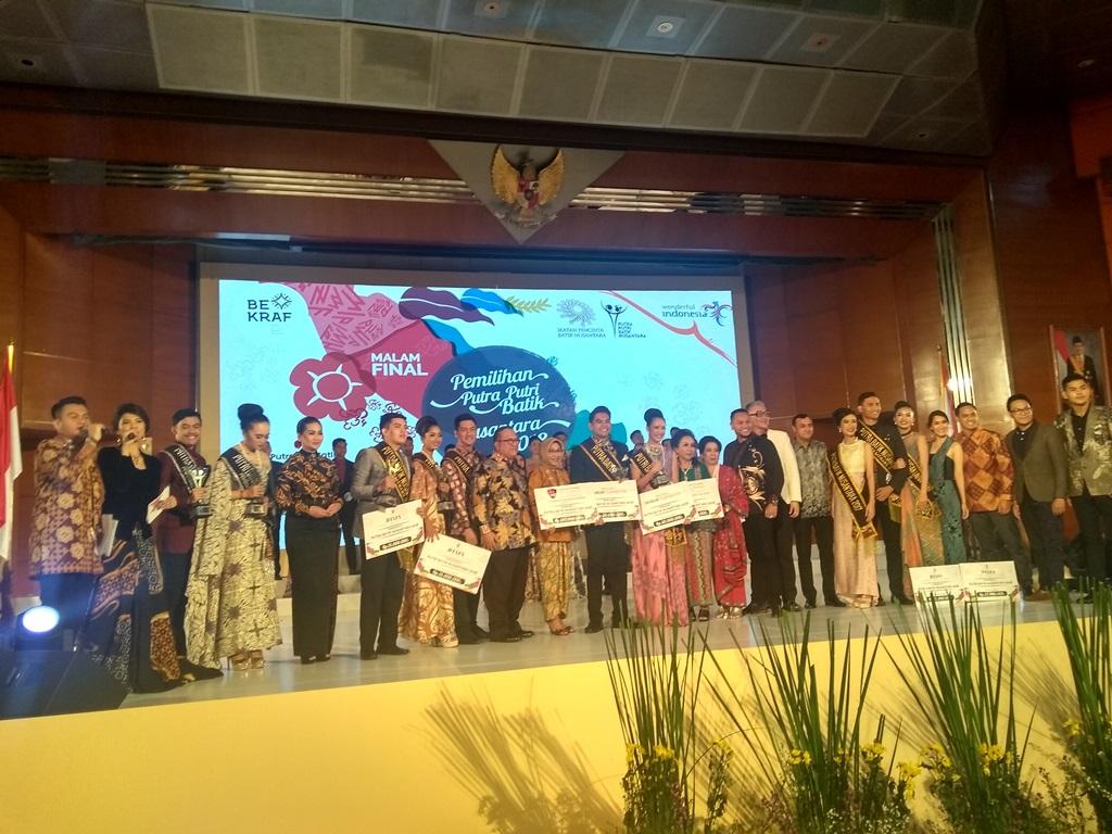 Pemilihan Putra Putri Batik 2018 Angkat Batik Bengkulu