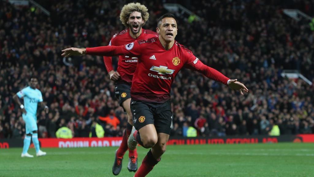 Alexis Sanchez Selamatkan United dari Kekalahan