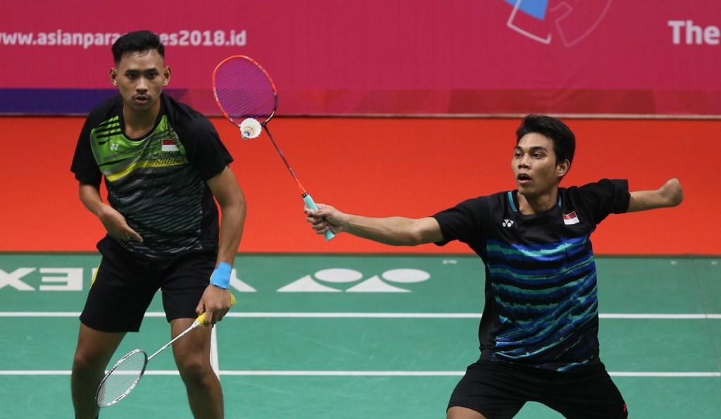 Para Bulu Tangkis Beregu Putra Indonesia Tembus Final