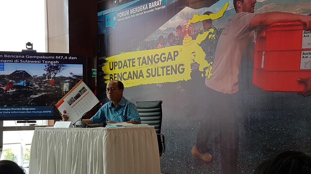 Korban Tewas Bencana di Sulawesi Tengah jadi 1.763