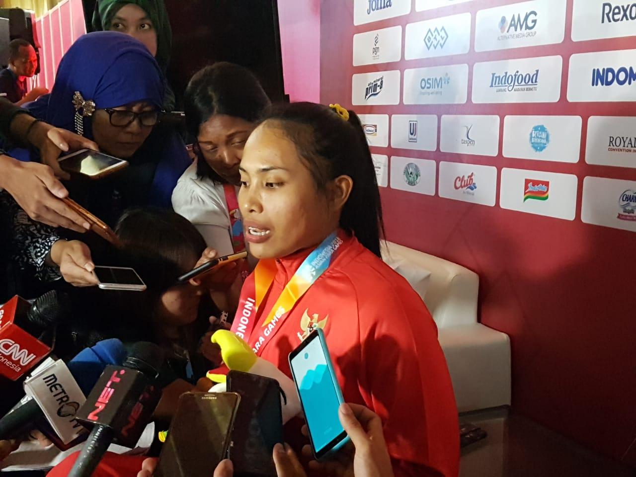 Curahan Hati Widi Usai Hanya Mampu Raih Perak Asian Para Games 2018
