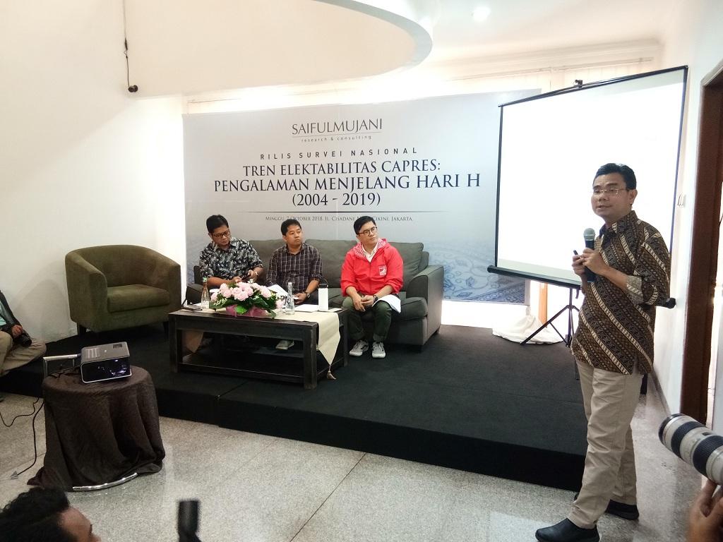 Tren Dukungan Jokowi Lebih Baik dari SBY