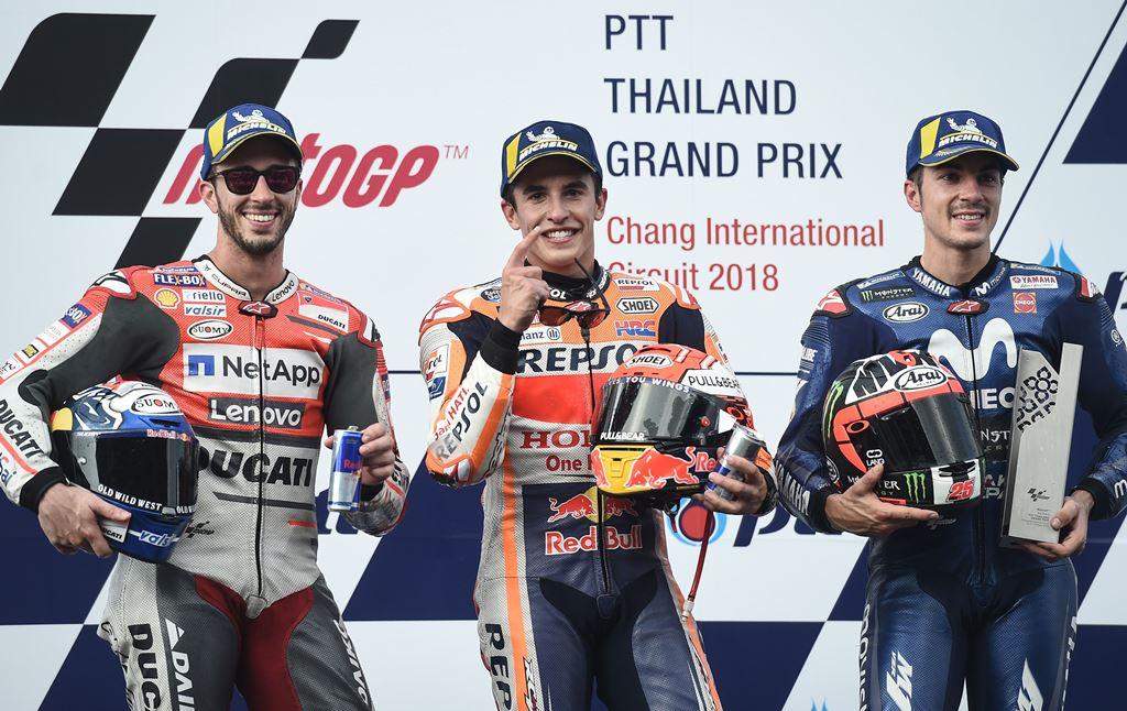 Klasemen Pembalap Usai MotoGP Thailand