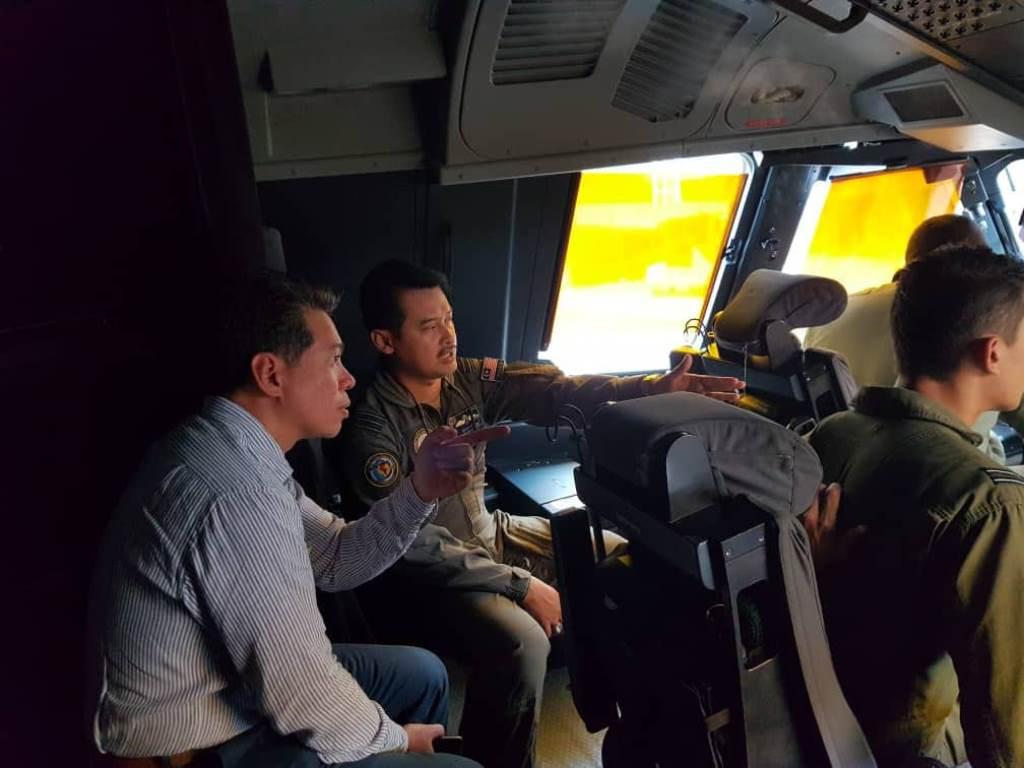 Pesawat Bantuan Malaysia Tiba di Sulteng
