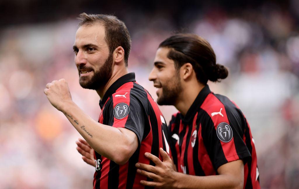 Higuain Bersinar, Milan Kalahkan Chievo