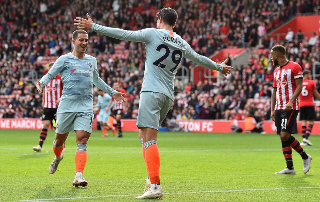 Bungkam Southampton, Chelsea Panaskan Persaingan di Puncak Klasemen