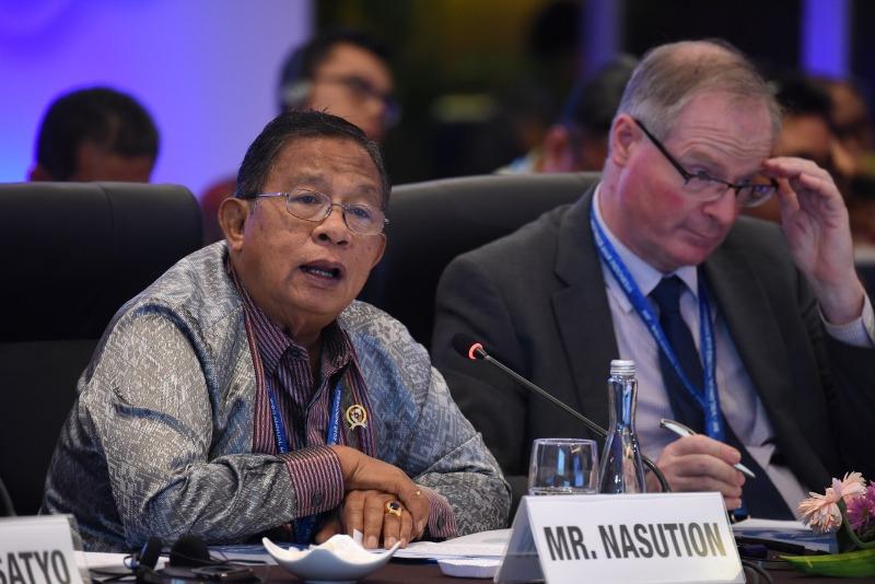 Darmin Ajak Peserta IMF-WB Tingkatkan SDM Bangsa
