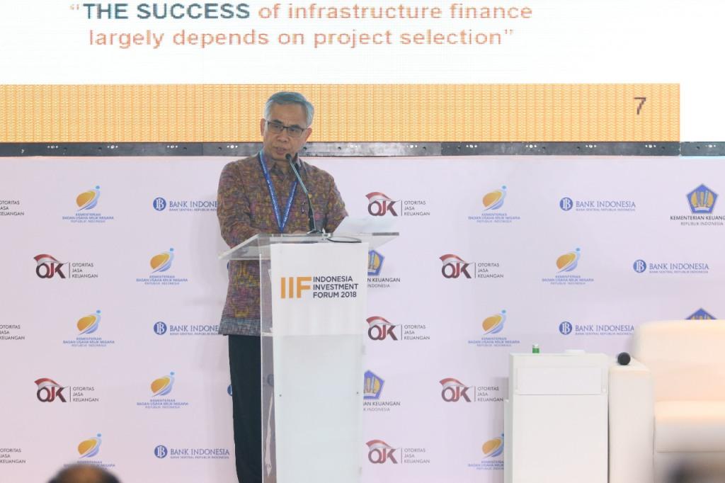 Pasar Modal jadi Pusat Pembiayaan Pembangunan Infrastruktur