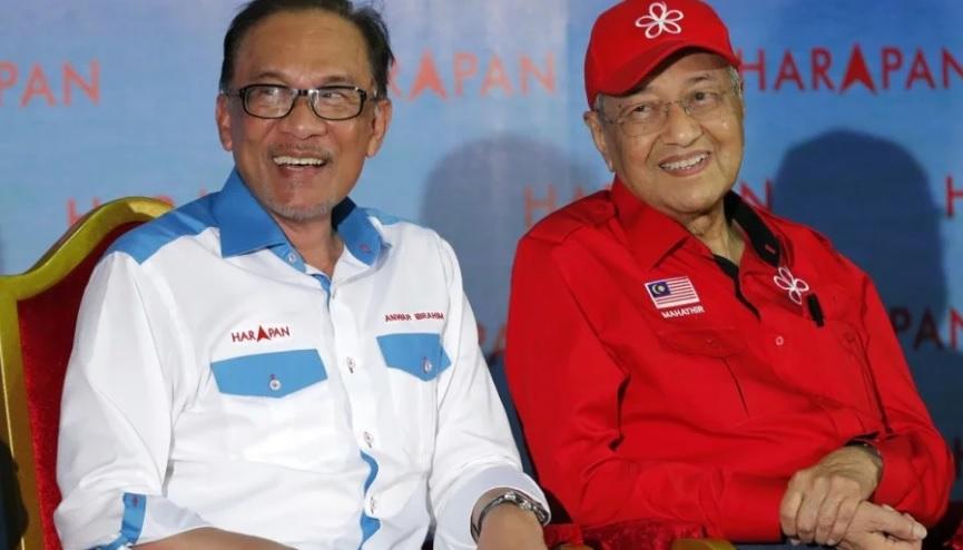 Mahathir Dukung Anwar Ibrahim di Pemilu Sela Malaysia