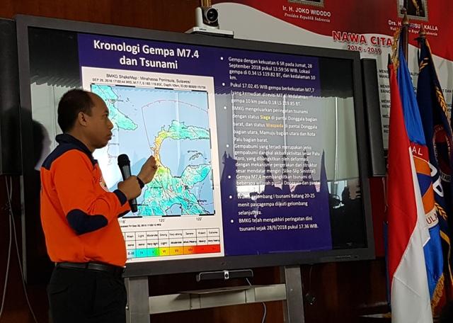 Kamis, Evakuasi Korban Gempa dan Tsunami Sulteng Dihentikan