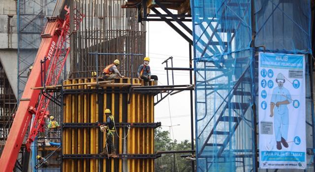 Pembangunan Tol Becakayu Sesi II A Molor