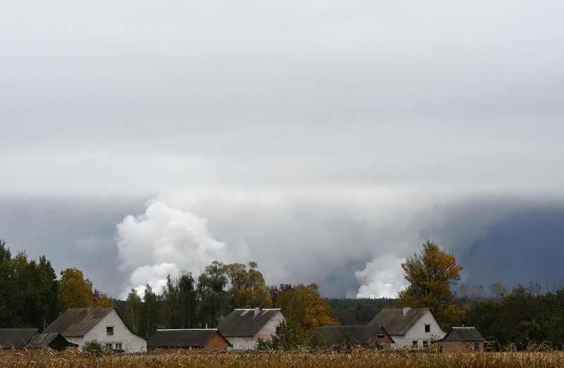 12 Ribu Warga Dievakuasi Usai Depot Senjata Ukraina Terbakar
