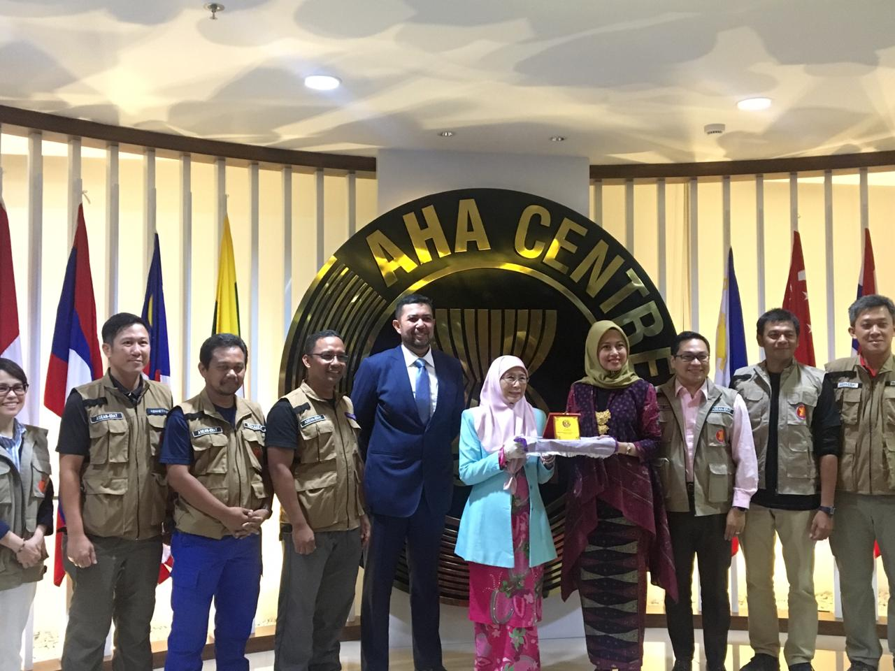 Wakil PM Malaysia Puji Gerak AHA Centre di Sulteng