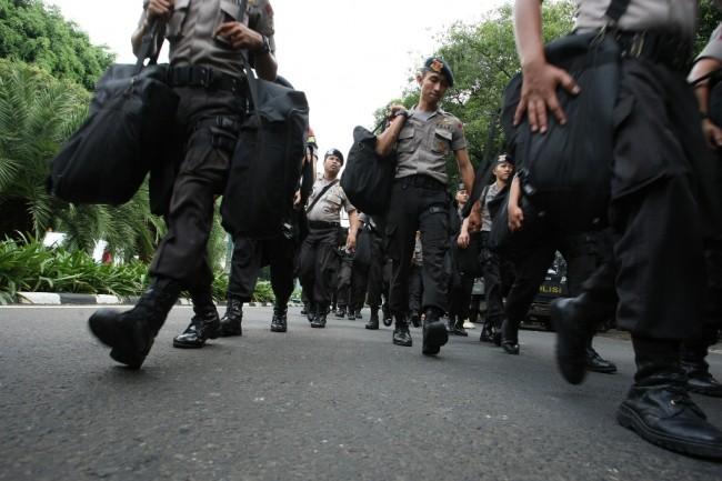 Ribuan Polisi Diterjunkan Jaga Pemeriksaan Amien Rais