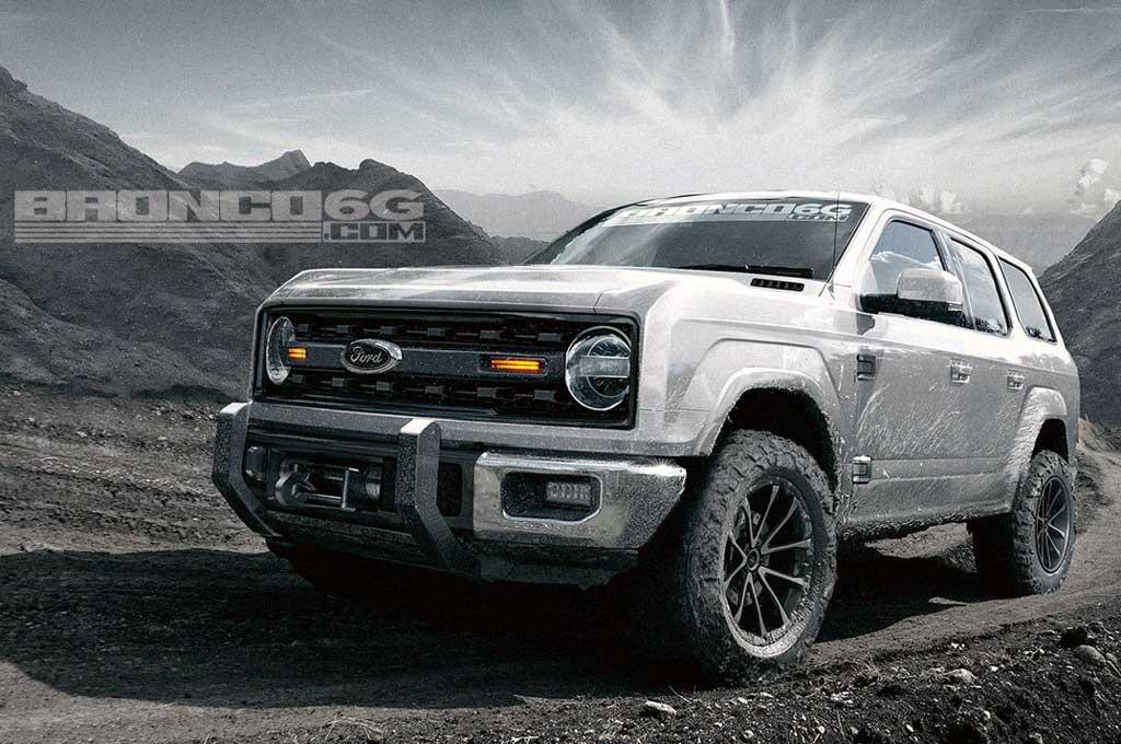 Ford Bronco Bakal Pakai Transminsi Manual Tujuh Kecepatan