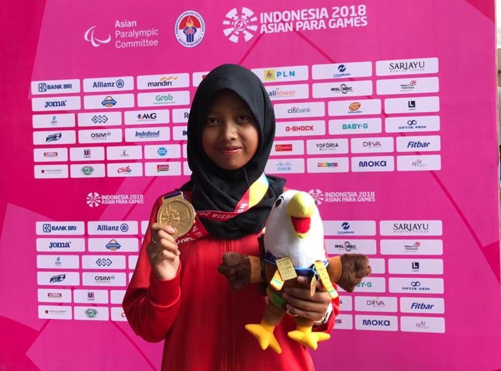 Para Atletik Kembali Sumbang Emas bagi Indonesia