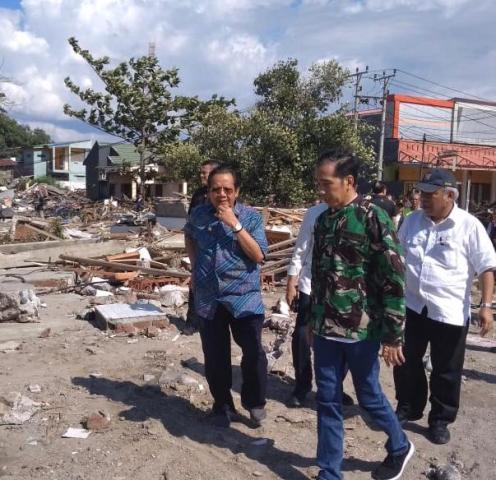 Jokowi Mengakui Pelayanan di Sulteng Belum Maksimal
