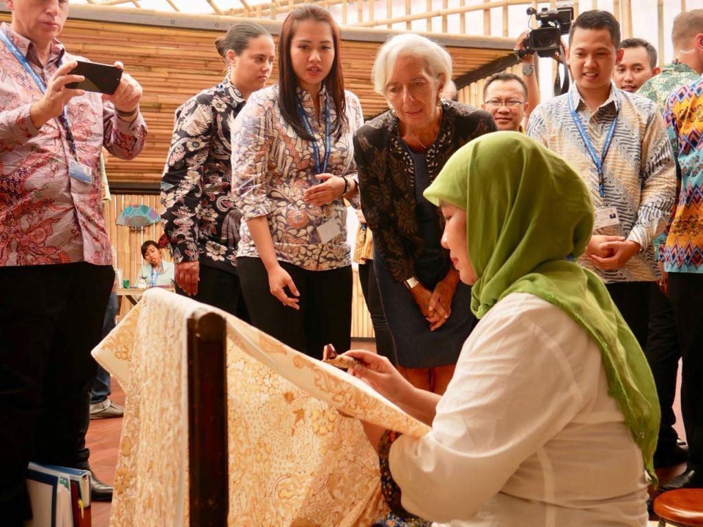 IMF Takjub dengan Indonesia Pavilion