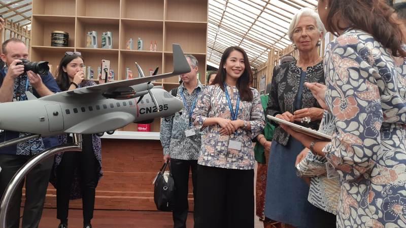 Bos IMF Bangga Indonesia Produksi Pesawat Sendiri