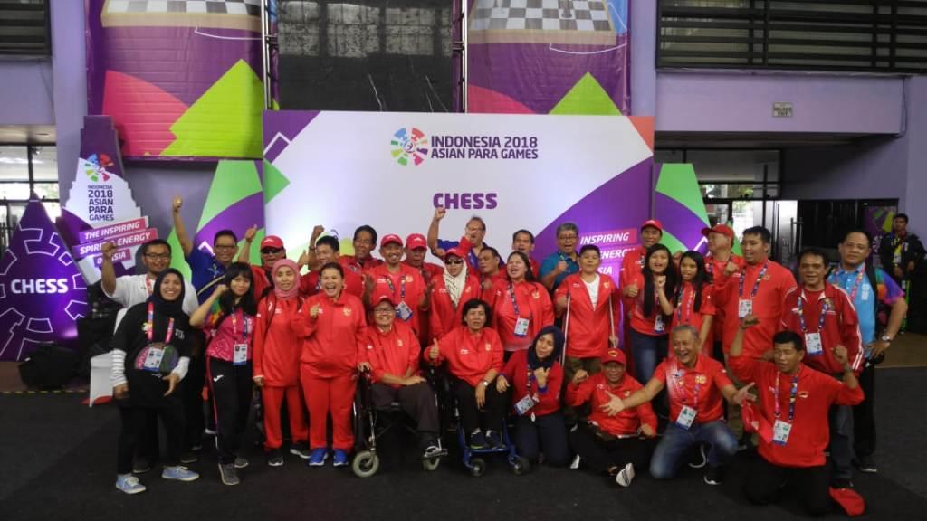 Tim Para-Catur Indonesia Persembahkan Setengah Lusin Emas