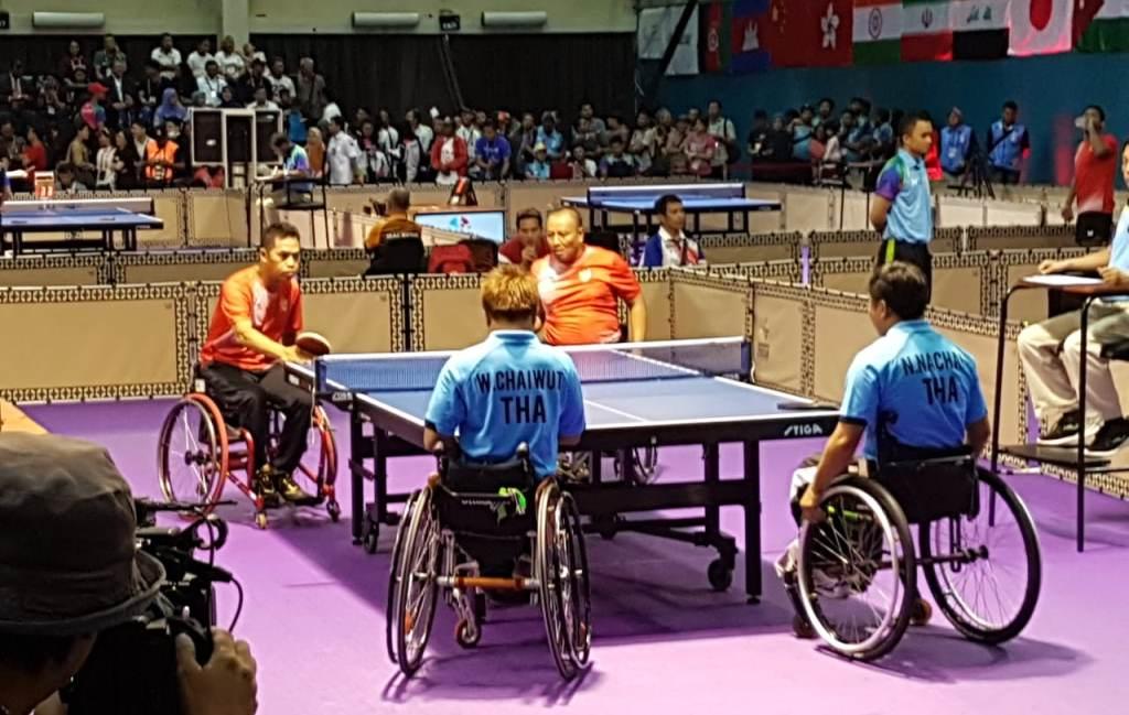 Ganda Putra Para Tenis Meja Kembali Persembahkan Emas untuk Indonesia