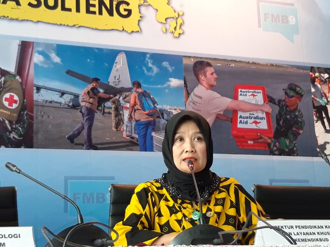 422 Sekolah Rusak di Sulawesi Tengah