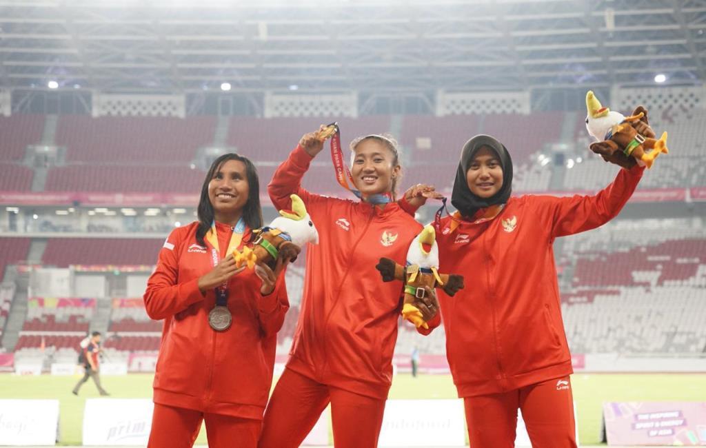Komentar Para Pelari Putri Indonesia Usai Borong Medali